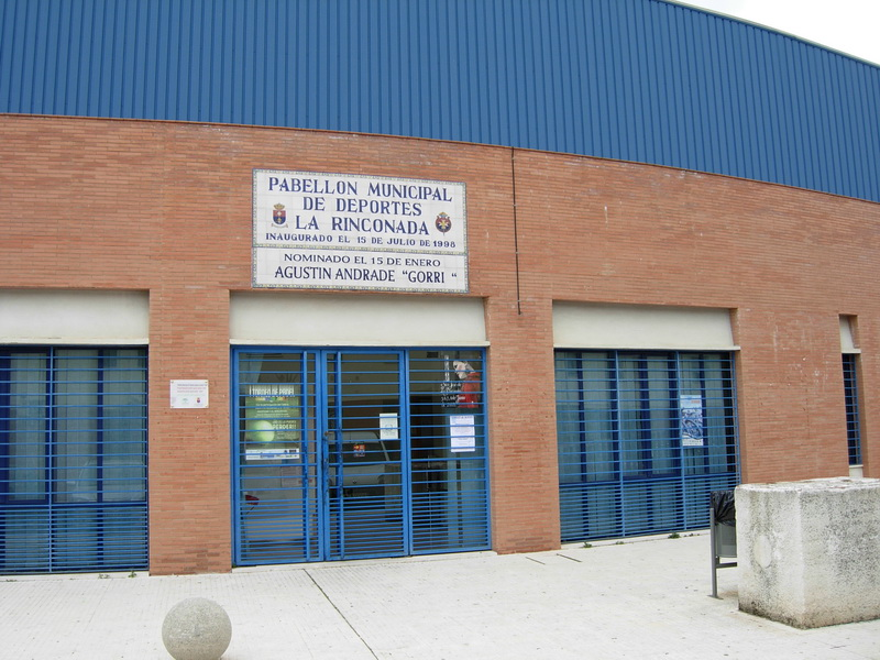 Pabell n municipal agust n andrade - Pabellon de deportes madrid ...